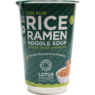 LOTUS FOODS - RICE RAMEN NOODLE SOUP - (Tom Yum) - 2oz