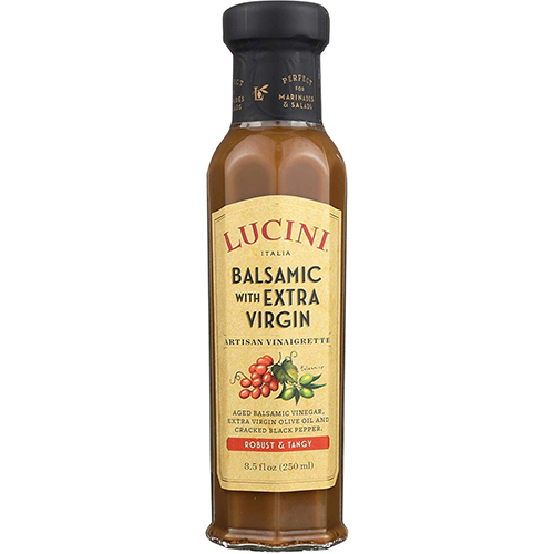 LUCINI - BALSAMIC WITH EXTRA VIRGIN - (Robust & Tangy) - 8.5oz