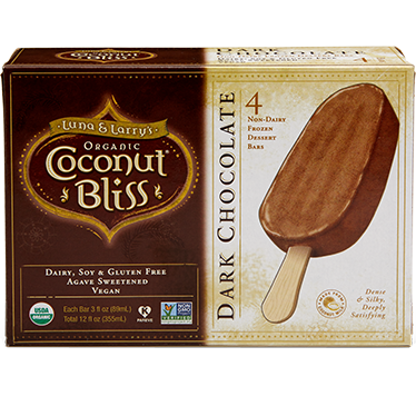 LUNA & LARRY'S - COCONUT BLISS - (Dark Chocolate) - 12oz (4Bars)