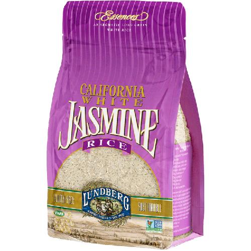 LUNDBERG - ORGANIC CALIFORNIA JASMINE RICE - NON GMO - VEGAN - 32oz