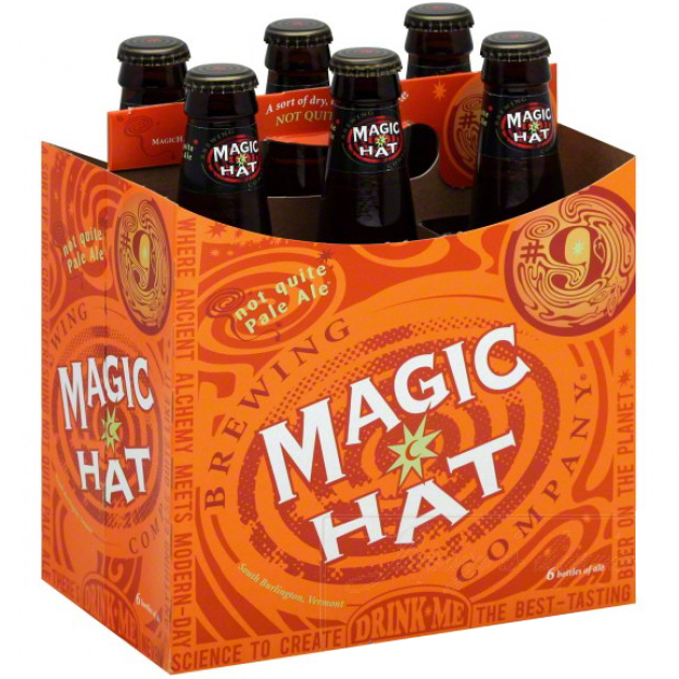 MAGIC HAT NOT QUITE PALE ALE - (Bottle) - 12oz(6PK)