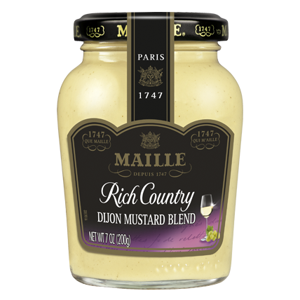 MAILLE - DIJON MUSTARD - SAUCE - (Rich Country) - 7oz