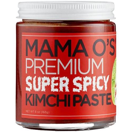 MAMA O'S - PREMIUM SUPER SPICY KIMCHI PASTE - 16oz