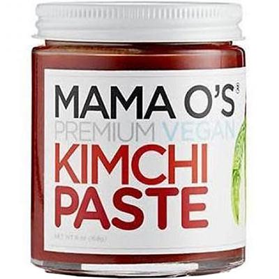 MAMA O'S - PREMIUM VEGAN SPICY KIMCHI PASTE - 16oz