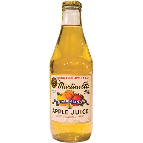 MARTINELLI'S - GOLD MEDAL - APPLE JUICE (Slim Bottle) - 10oz