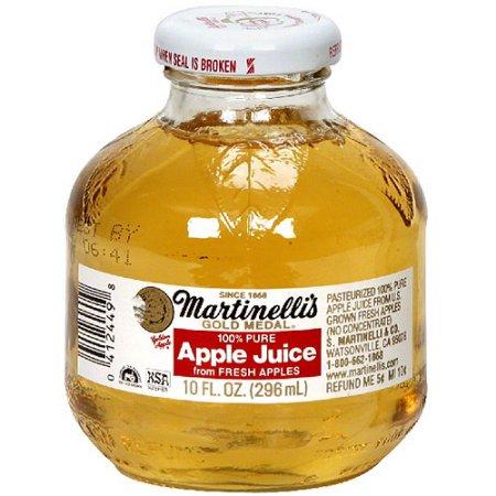 MARTINELLI'S - GOLD MEDAL - APPLE JUICE - 10oz