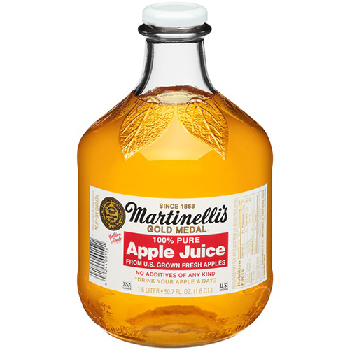 MARTINELLI'S - GOLD MEDAL - APPLE JUICE - 50.7oz