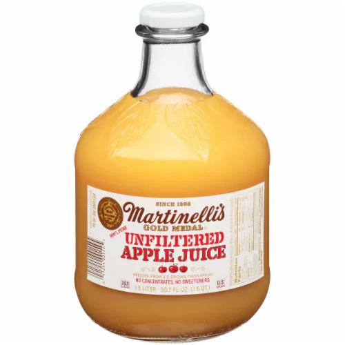 MARTINELLI'S - GOLD MEDAL - APPLE JUICE (Organic Honey Crispy) - 50.7oz