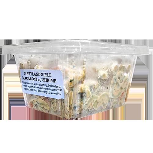 Maryland Style Macaroni /w Shrimp Salad