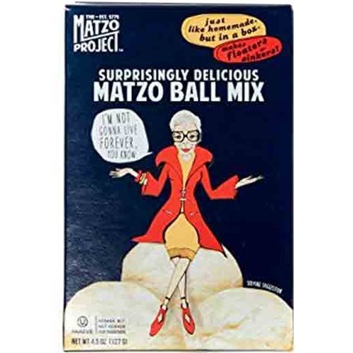 MATZO PROJECT - SURPRISINGLY DELICIOUS MATZO BALL MIX - 4.5oz