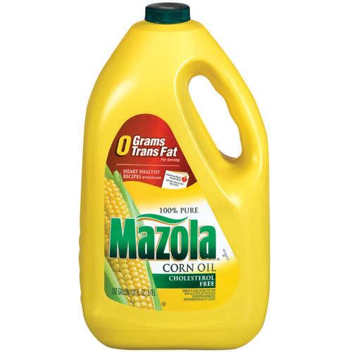 MAZOLA - 100% PURE CORN OIL - 128oz