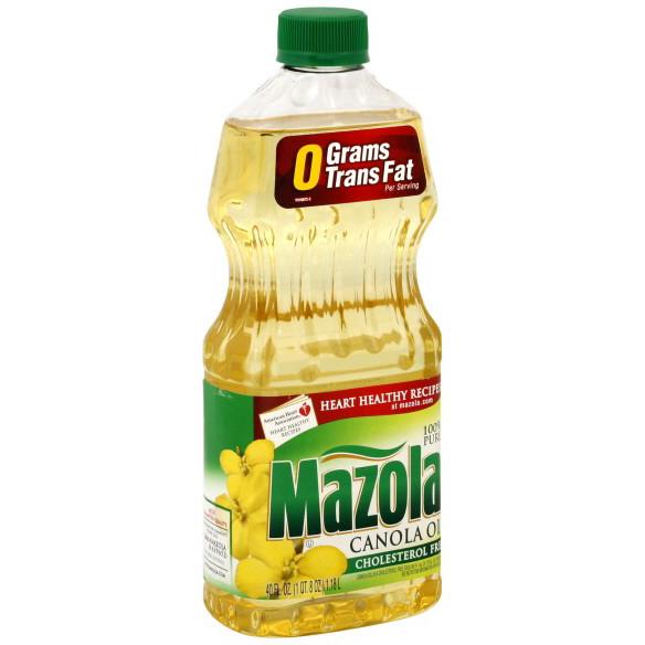 MAZOLA - CANOLA OIL - 40oz