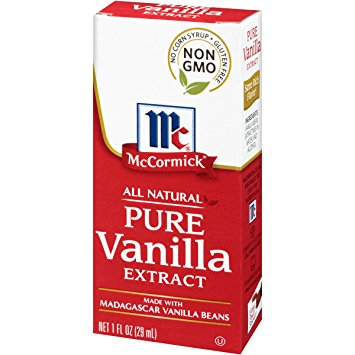 Mc CORMICK - ALL NATURAL PURE VANILLA EXTRACT - NON GMO - 1oz