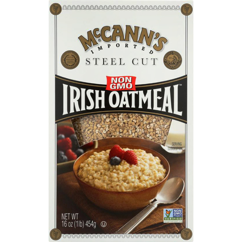 McCANN'S - IRISH OATMEAL - NON GMO - INSTANT - (Steel Cut) - 12.34oz