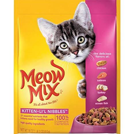 MEOW MIX - (Kitten) - 18oz