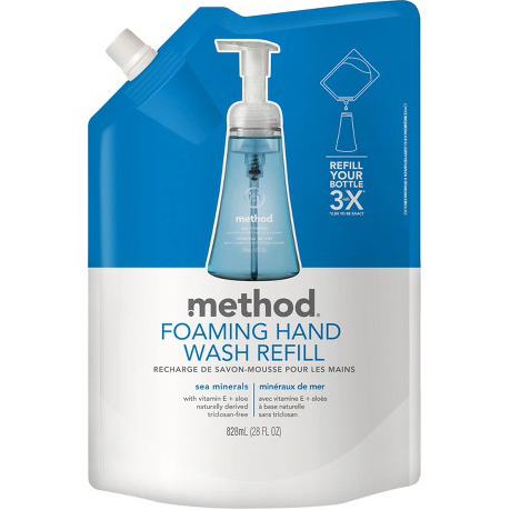 METHOD - FOAMING HAND WASH REFILL - (Sea Minerals) - 28oz