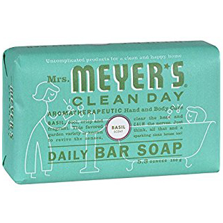 MEYER'S - DAILY BAR SOAP - (Basil) - 5.3oz