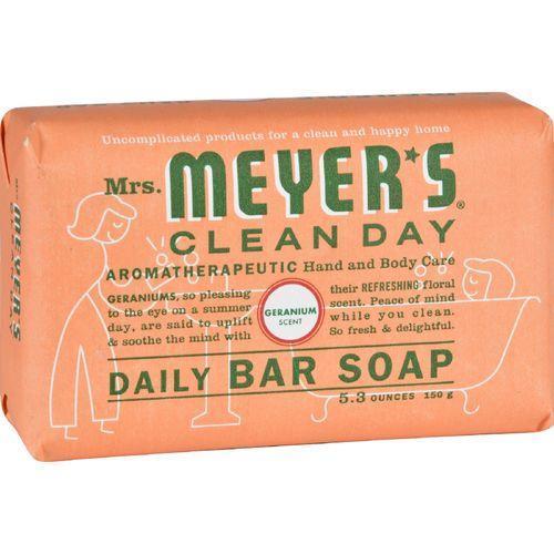 MEYER'S - DAILY BAR SOAP - (Geranium) - 5.3oz
