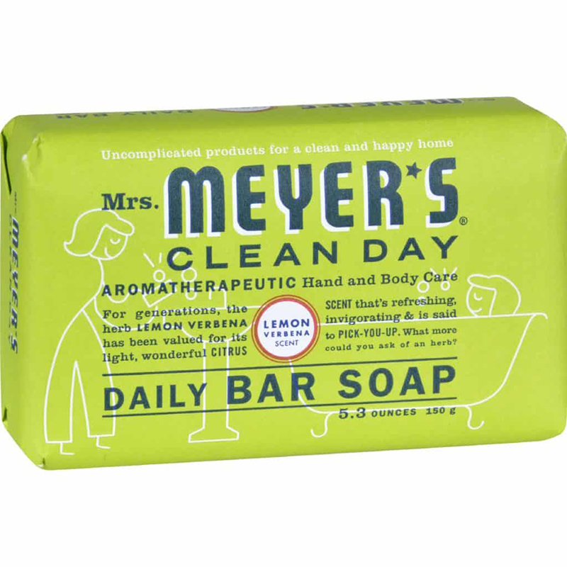 MEYER'S - DAILY BAR SOAP - (Lemon Verbena) - 5.3oz