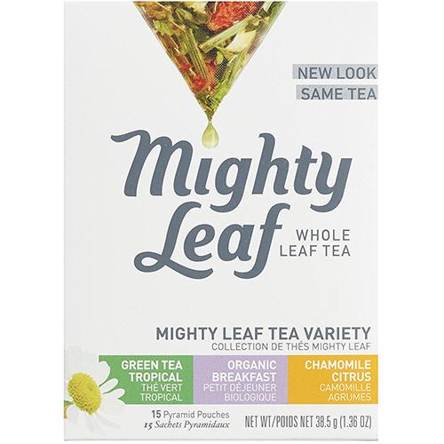 MIGHTY LEAF - WHOLE LEAF TEA - (Mighty Leaf Tea Variety) - 15bags