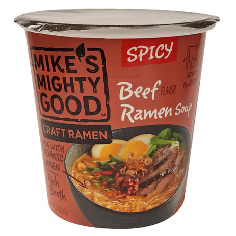 MIKE'S MIGHTY GOOD - BEEF SOUP (Spicy) - 1.8oz