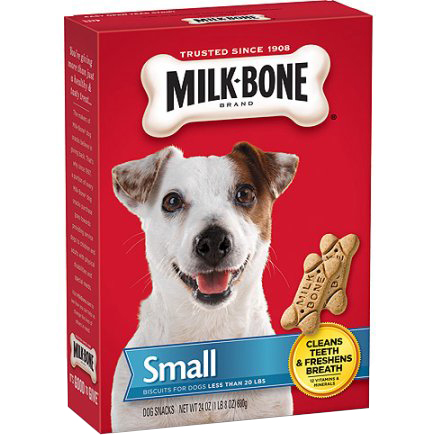 MILK BONE - BISQUITS FOR DOGS - (Small) - 24oz