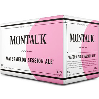 MONTAUK - (Can) - (Watermelon Session Ale) - 12oz(6PK)