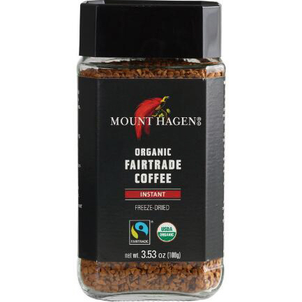 MOUNT HAGEN - ORGANIC FAIR TRADE COFFEE (Instant) - 3.53oz