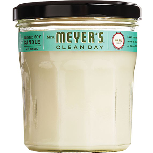 Mrs. MEYER'S - CANDLE - (Basil) - 7.2oz