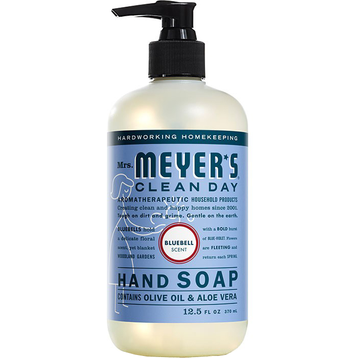 Mrs. MEYER'S - CLEAN DAY HAND SOAP - (Bluebell) - 12.5oz