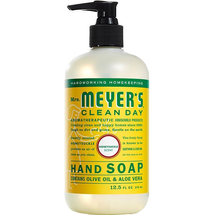 Mrs. MEYER'S - CLEAN DAY HAND SOAP - (Honeysuckle) - 12.5oz