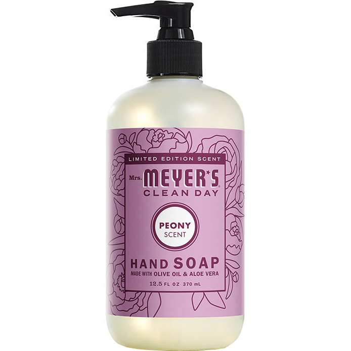 Mrs. MEYER'S - CLEAN DAY HAND SOAP - (Peony) - 12.5oz