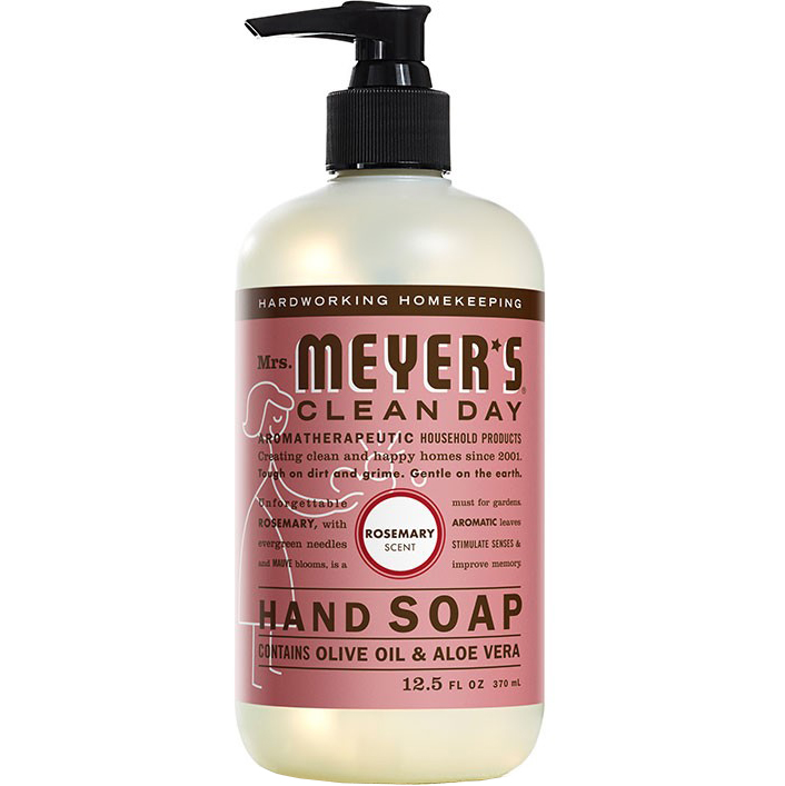 Mrs. MEYER'S - CLEAN DAY HAND SOAP - (Rosemary) - 12.5oz