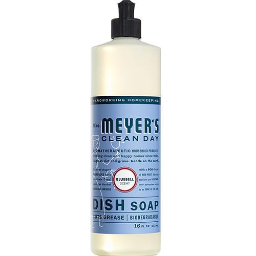 MRS MEYER'S - DISH SOAP - (Bluebell) - 16oz