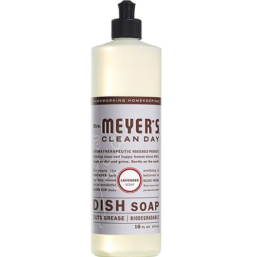 MRS MEYER'S - DISH SOAP - (Lavender) - 16oz