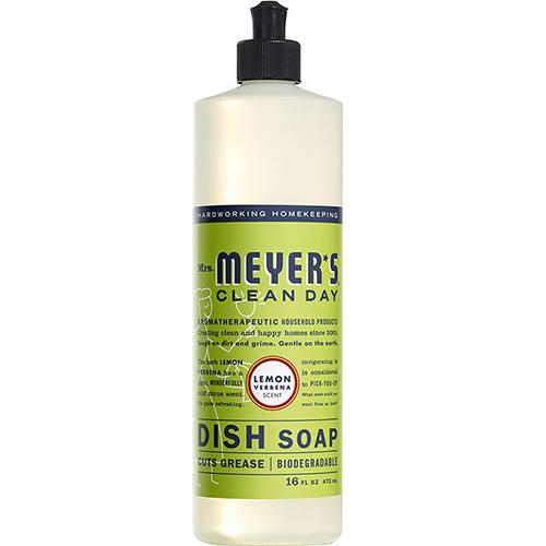 MRS MEYER'S - DISH SOAP - (Lemon Verbena) - 16oz