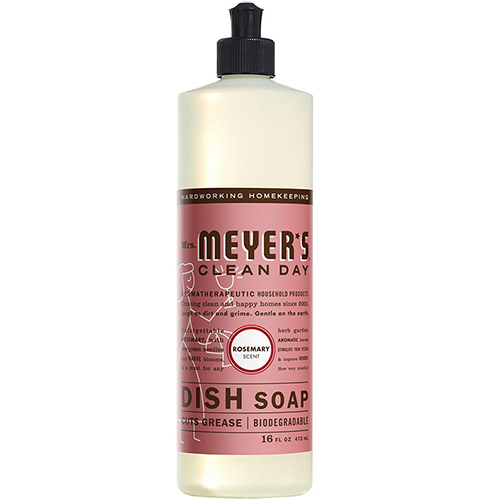 MRS MEYER'S - DISH SOAP - (Rosemary) - 16oz