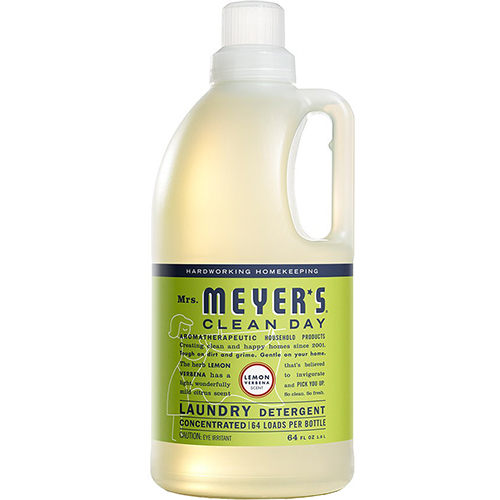 MRS MEYER'S - LAUNDRY DETERGENT- (Lemon Verbena) - 64oz