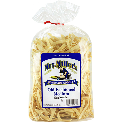 Mrs. MILLER's - HOMEMADE EGG NOODLES - (Old Fashioned Medium) - 16oz