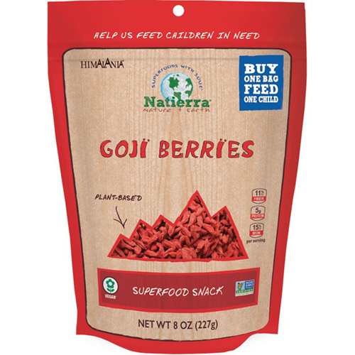 NATIERRA - GOJI BERRIES - 4oz