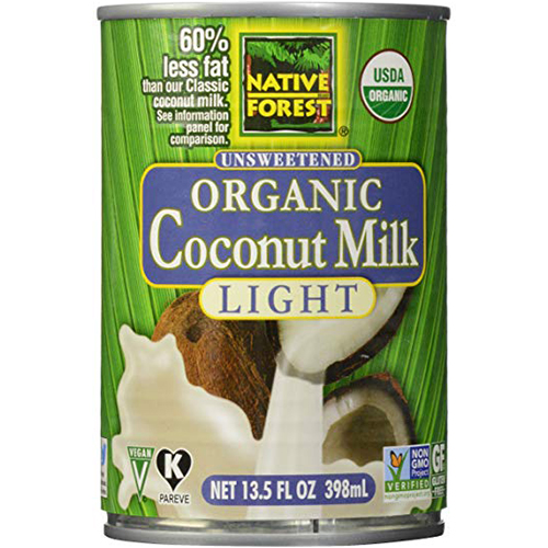 NATIVE FOREST - UNSWEETENED ORGANIC COCONUT MILK - (Light) - 13.5oz