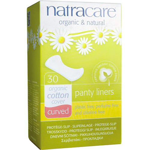 NATRACARE - PANTY LINERS - (Curved) - 30PCS