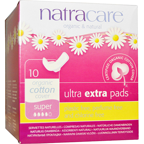 NATRACARE - ULTRA EXTRA PADS - (Super) - 10PCS