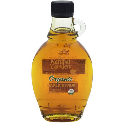 NATURAL GARDEN - PURE & NATURAL ORGANIC MAPLE SYRUP - 8oz