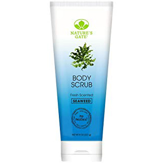 NATURE'S GATE - BODY SCRUB - GLUTEN FREE - (Seaweed | Fresh Scented) - 8oz