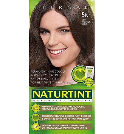 NATURTINT - PERMANENT HAIR COLOR - (5N - Light Chestnut Brown) - 5.6oz