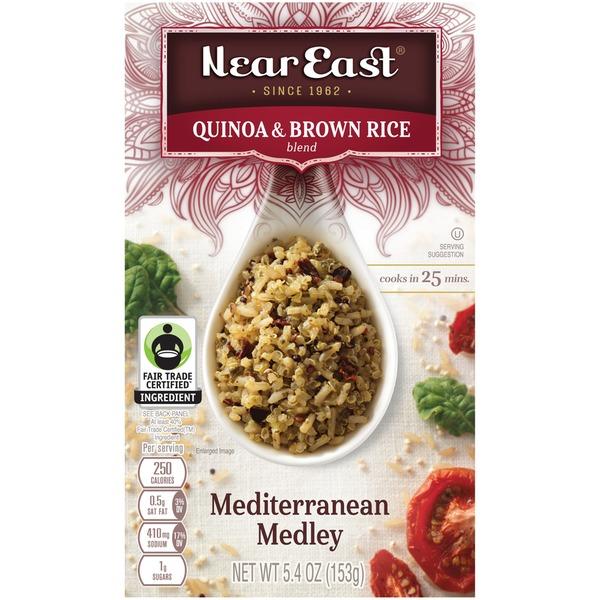NEAR EAST - QUINOA & BROWN RICE - (Mediterranean Medley) - 5.4oz