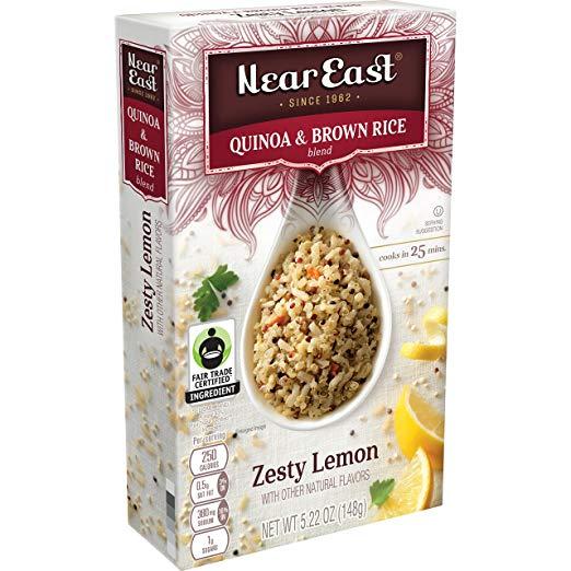 NEAR EAST - QUINOA & BROWN RICE - (Zesty Lemon) - 5.22oz