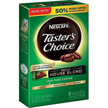 NESCAFE - TASTER'S CHOICE - (House Blend | Decaf) - 5PACKETS