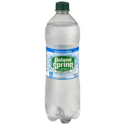 NESTLE - POLAND SPRING SPARKLING WATER - (Simply Bubbles) - 1.8L